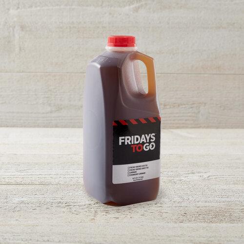 Freshly Brewed Unsweet Iced Tea 1/2 Gallon Jug