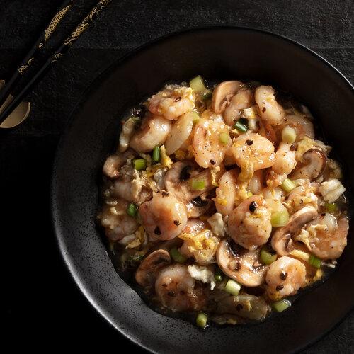 GF Shrimp with Lobster Sauce