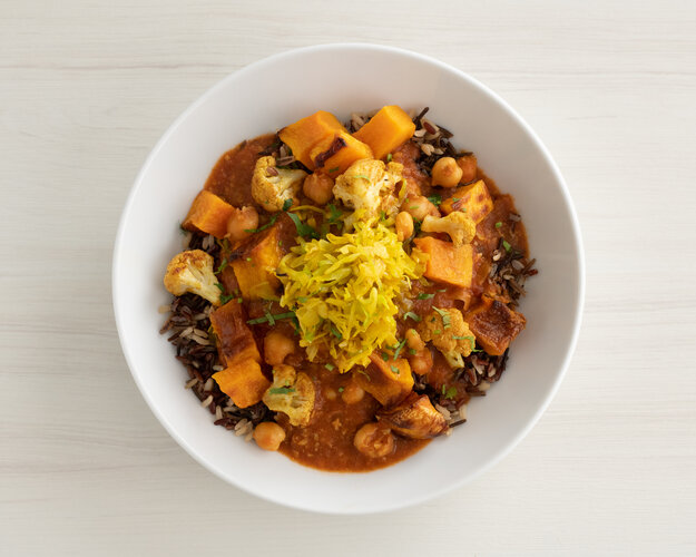 Masala Chickpea Curry Bowl