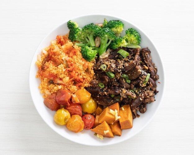Kimchi Beef Bowl