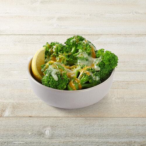 Lemon-Butter Broccoli & Cheese