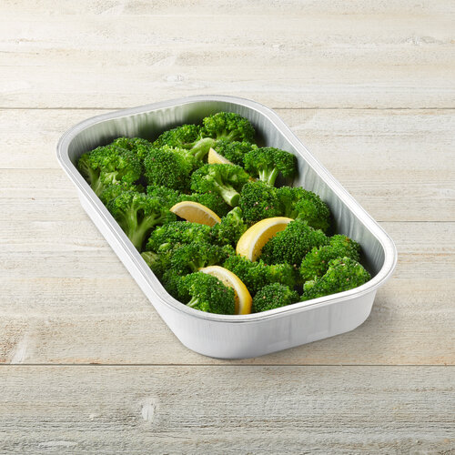 Lemon Garlic Broccoli Party Tray