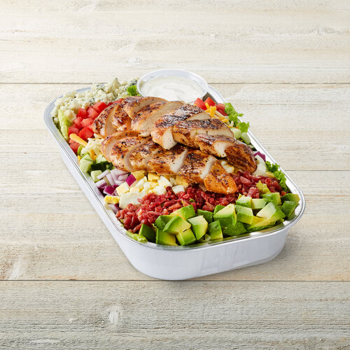 Million Dollar Cobb Salad with Chicken Party Tray