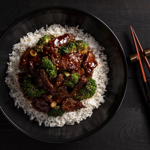 Beef with Broccoli Bowl
